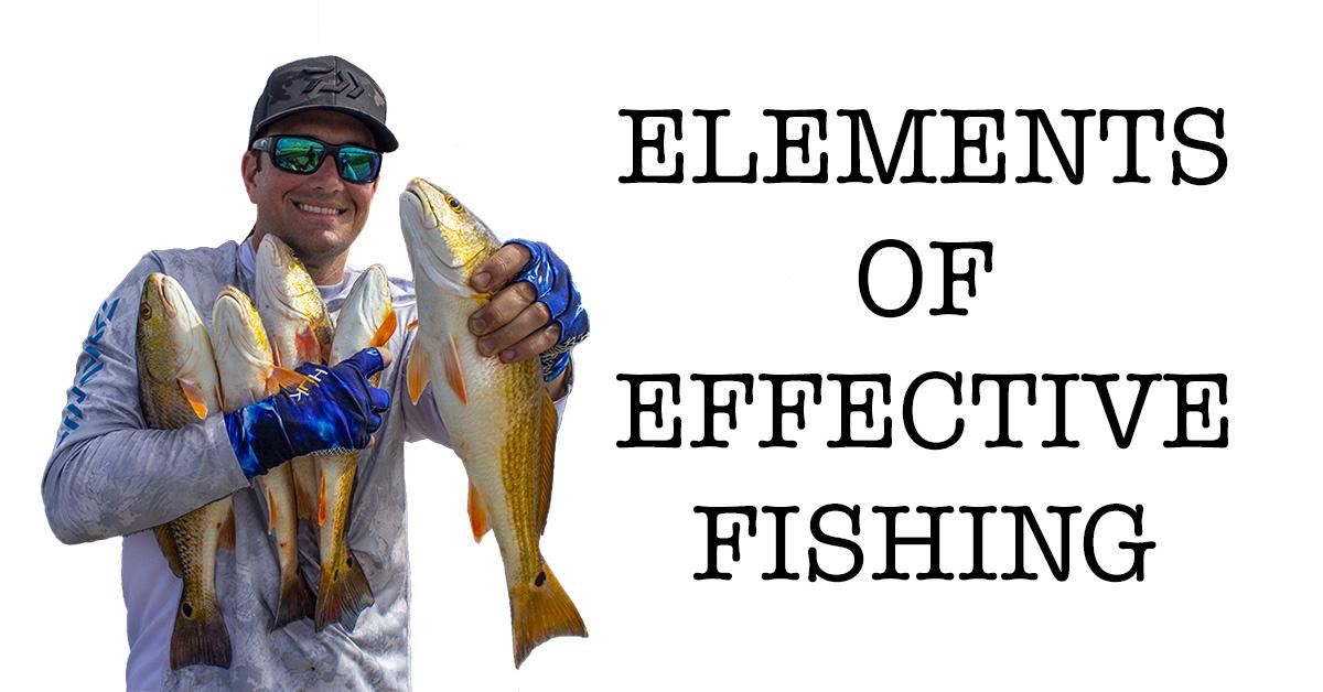 elements of effective fishing